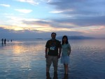 Shaun and Wonderful Jane at Great Salt Lake