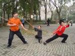 Zhongshan Park with Sharon Tan and Greg Callaghan