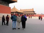At Beijing's Forbidden City with Henry Lake