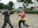 Karate Practice with Mr. Suzuki in Japan