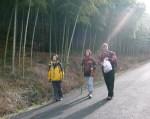 Hiking on Moganshan Mountain China