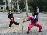 Kungfu in Zhongshan Park China
