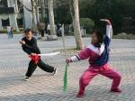 Kungfu in Zhongshan Park China