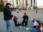 In Pusan Korea with Fred Lang and ultra marathoners