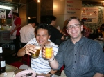 Working hard with Neil Nilvichean in Bangkok