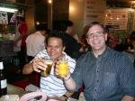 Working hard with Neil Nilvichean in Bangkok