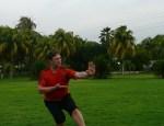 Kungfu practice in Maracaibo Venezuela