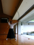 Kyudo Japan with Mr. Shigeta
