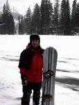 Snowboarding in Utah